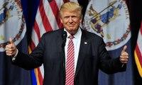 Donald Trump insists campaign is united despite reports of Republican party split – video