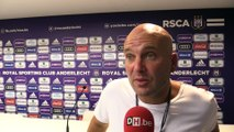 """Roberto Martinez aurait pu coacher Anderlecht"""