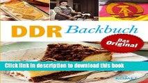 Books DDR Backbuch: Das Original: Rezepte Klassiker aus der DDR-Backstube (Minikochbuch) (German