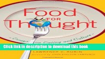 reading is the food for thought essay