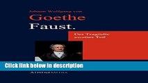Ebook Faust. Der Tragödie zweiter Teil: Der Tragödie Zweiter Teil (German Edition) Free Online