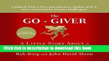 Books The Go-Giver: A Little Story About a Powerful Business Idea Free Download