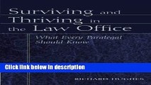 Books Surviving and Thriving in the Law Office Free Online