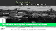 Books Forests in Landscapes: Ecosystem Approaches to Sustainability (The Earthscan Forest Library)