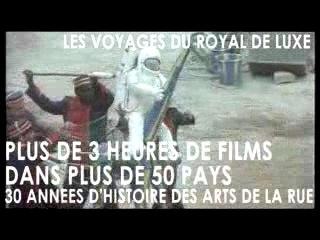 Les voyages du ROYAL DE LUXE - DVD