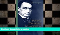 Free [PDF] Downlaod  Steiner s Theosophy and Principles of Spiritual Science  DOWNLOAD ONLINE