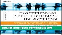 Books Emotional Intelligence in Action: Training and Coaching Activities for Leaders, Managers,