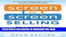 Ebook Screen to Screen Selling: How to Increase Sales, Productivity, and Customer Experience with