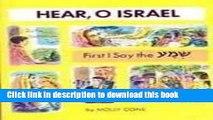 [PDF] First I Say the Shema (Hear, O Israel) (Hear, O Israel; The Shema Story Books) Online Book