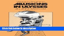 Books Allusions in Ulysses: An Annotated List Free Download