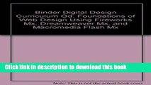 Ebook Digital Design Curriculum Guide: Foundations of Web Design Using Fireworks Mx, Dreamweaver