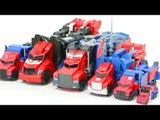Transformers Robots in Disguise Optimus Prime Vehicle Truck Robot Car Toys 트랜스포머 어드벤처 옵티머스프라임 장난감 변신