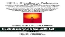 Ebook OSHA Bloodborne Pathogens Manual and CD, Introductory But Comprehensive OSHA (Occupational