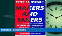 Online eBook Makers and Takers: Why conservatives work harder, feel happier, have closer families,