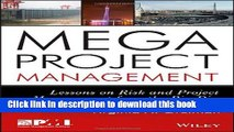 Ebook Megaproject Management: Lessons on Risk and Project Management from the Big Dig Full Online