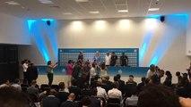 OM : Margarita Louis-Dreyfus arrive en conférence de presse