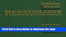 Books Hepatology: A Textbook of Liver Disease (2-Volume Set) Free Download