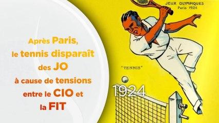 Le tennis aux Jeux Olympiques, ses grandes dates