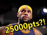 [NBA 舊聞] - LeBorn James with 25000+ pts !!!
