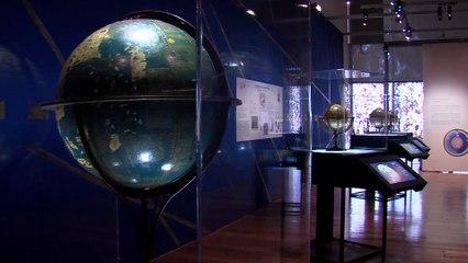"""Présentation de l'exposition """"Globes en 3D"""""""