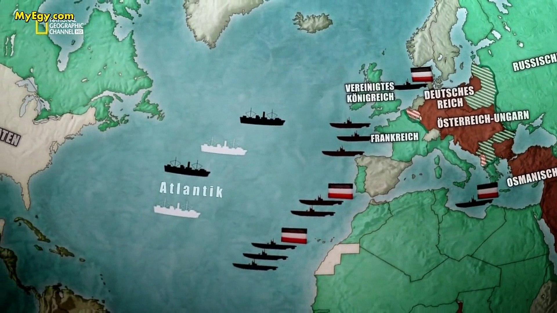 السلسلة الوثائقية الحرب العالمية الاولى   الجزء الرابع