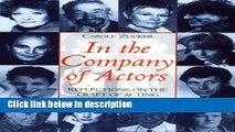 Ebook In the Company of Actors: Reflections on the Craft of Acting (Theatre Arts (Routledge