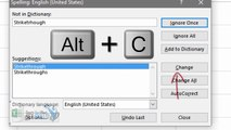 Excel Tips: FORMATTING SHORTCUTS-You ever have to Bold Underline Italicize Strikethrough