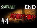 [恐怖遊戲] Sonic玩Outlast: Whistleblower: Pt 4 END『咁都冇事!?』