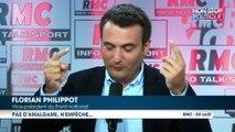 Florian Philippot dément faire un lien entre français musulman et islamisme radical … mais le fait quand même