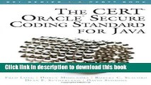 PDF  The CERT Oracle Secure Coding Standard for Java (SEI Series in Software Engineering)  Online