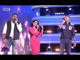 #الليلة_دي | شاهد .. سمية الخشاب تغني سواح مع أحمد فهمي ومحمد نور