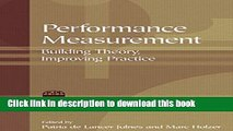 Ebook Performance Measurement: Building Theory, Improving Practice (ASPA Classics (Hardcover))