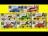 헬로카봇 마이크로 장난감 전제품 댄디 호크 본 프론 스카이 레스큐 자동차 Hellocarbot Micro car toys