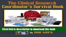 Books Study Coordinator Manual: The Clinical Research Coordinator s Survival Book Full Online