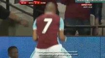 3-0 Sofiane Feghouli Goal HD - West Ham 3-0 Domzale - 04-08-2016