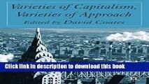 [Read  e-Book PDF] Varieties of Capitalism, Varieties of Approaches  Read Online
