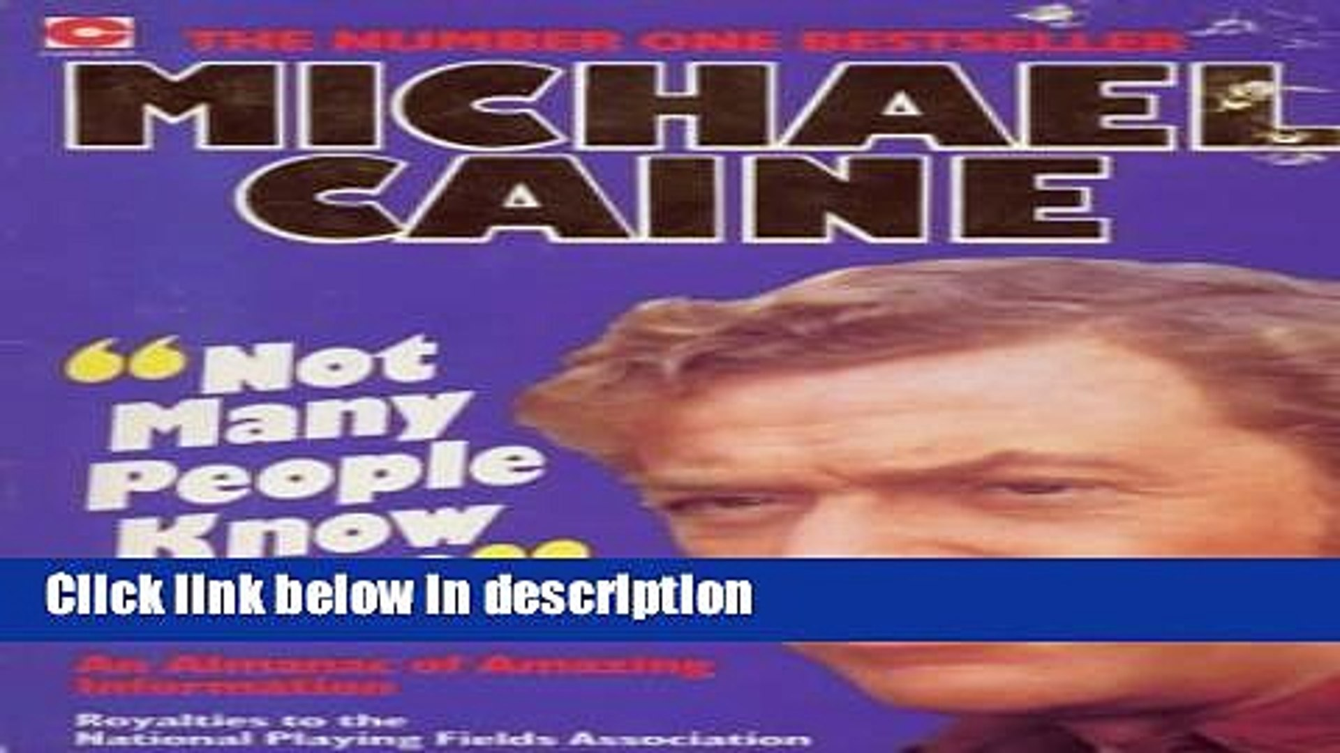 Ebook Not Many People Know That: Michael Caine s Almanac of Amazing Information (Coronet Books)