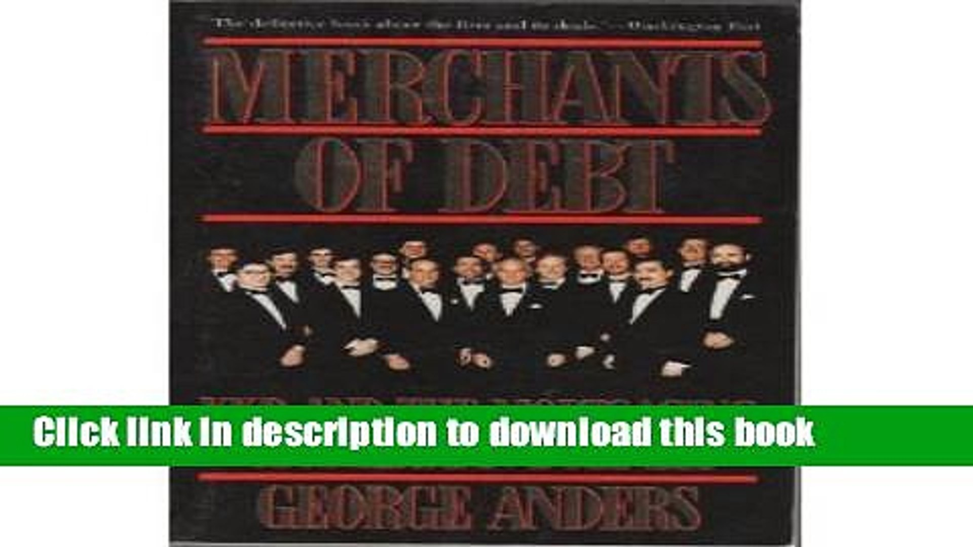 Books Merchants of Debt: Kkr and the Mortgaging of American Business Free Download