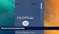 READ FREE FULL  NEW MyOMLab with Pearson eText -- Access Card -- for Principles of Operations