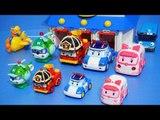 로보카 폴리 만들기 앰버 로이 헬리 변신 폴리 구조본부 타요 뽀로로 장난감 Робокар Поли Robocar Poli Tayo Pororo Car Toys