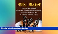 FAVORIT BOOK Project Manager: All you need to be a complete project manager (Manager, Leadership,
