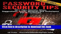 Ebook Password Security Tips: 101+ Tips, Secrets, Ideas, Suggestions, Tricks, Methods And