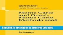 [Download] Monte Carlo and Quasi-Monte Carlo Methods 2006  Read Online