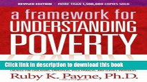 Ebook A Framework for Understanding Poverty 5th Edition Full Online