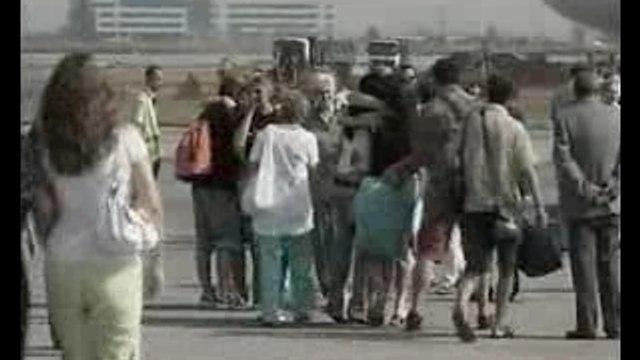 Las enfermeras búlgaras liberadas