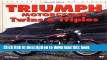 PDF  Triumph Motorcycles Twins   Triples (Enthusiast Color)  Online