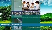 Must Have  Contemporary Project Management (with Microsoft Project CD-ROMs and Student CD-ROM)