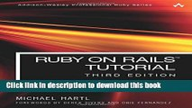 Ebook Ruby on Rails Tutorial: Learn Web Development with Rails (3rd Edition) Free Online