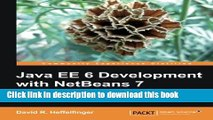 Ebook Java EE 6 Development with NetBeans 7 Free Download