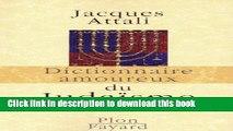 Books Dictionnaire amoureux du Judaïsme Free Online